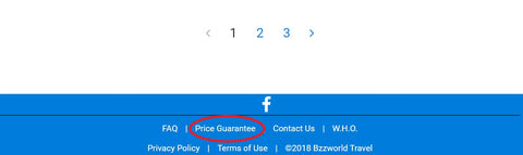 bzz world travel price guarantee