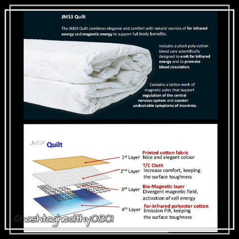 JMS3 Far Infrared Bio-Magnetic Quilt | Hashtag HealThy
