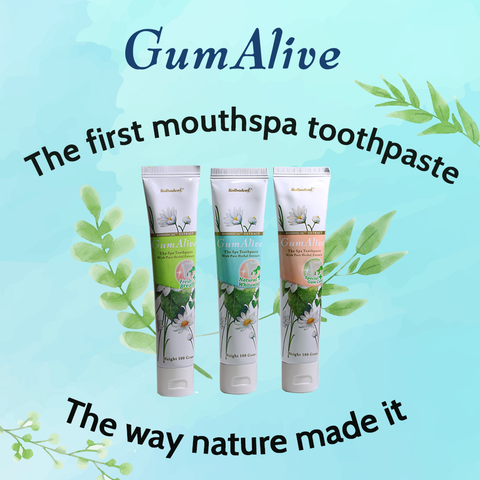 Gum Alive  Mouth Spa Toothpaste