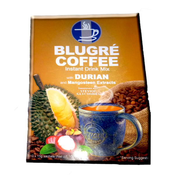 BluGre Coffee: Durian and Mangosteen Coffee