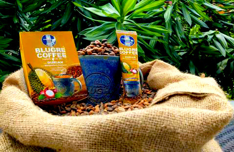 BluGre Durian Coffee: Durian Coffeccino | Hashtag HealThy