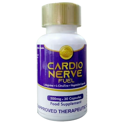 Cardio Nerve Fuel L-Arginine with L-Citrulline Vegetable Capsule