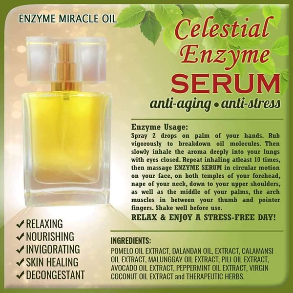 Celestial Enzyme Miracle Serum | Hashtag HealThy
