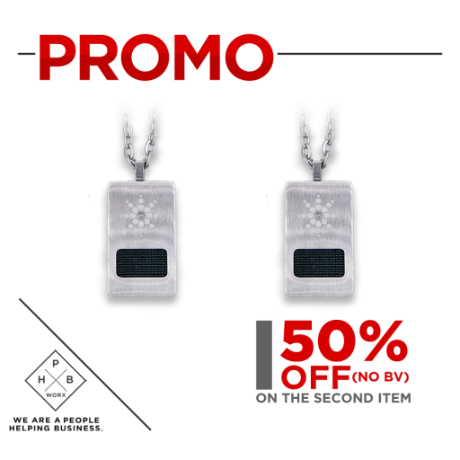 PROMO QUANTUM PREMIUM SCALAR ENERGY PENDANT - DOG TAG (BUY 1 GET SECOND AT 50% OFF)
