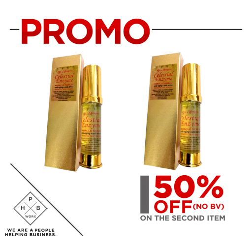 PROMO CELESTIAL MIRACLE OIL -SMALL BOTTLE (BUY 1 GET SECOND AT 50% OFF)