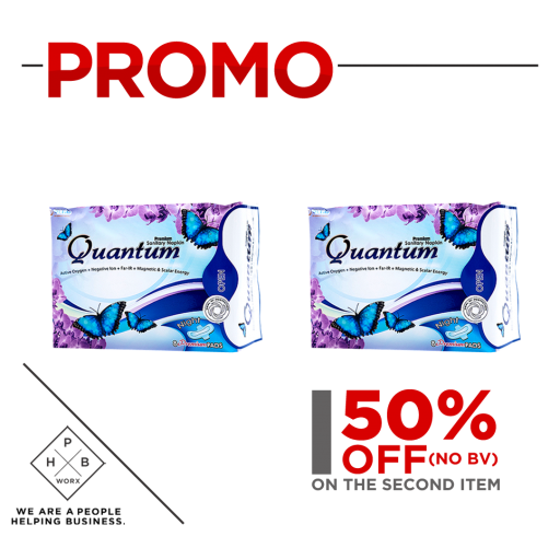 PROMO QUANTUM NIGHT NAPKIN (BUY 1 GET SECOND AT 50% OFF)