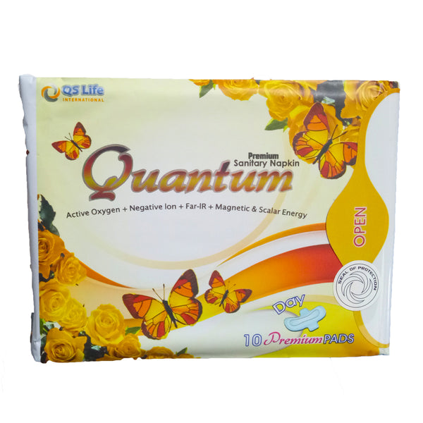 Quantum Premium Day Napkin with Negative Ions and Scalar Energy | Hashtag HealThy