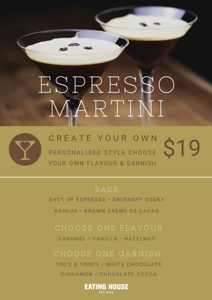 Create Your Own: Espresso Martini