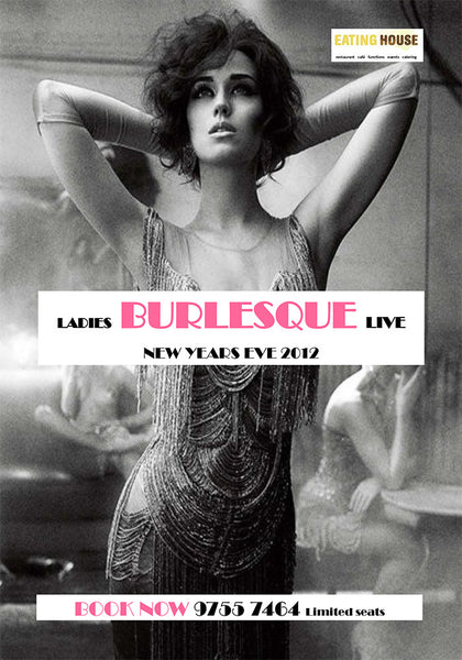 2012 New Year's Eve Burlesque Live Show