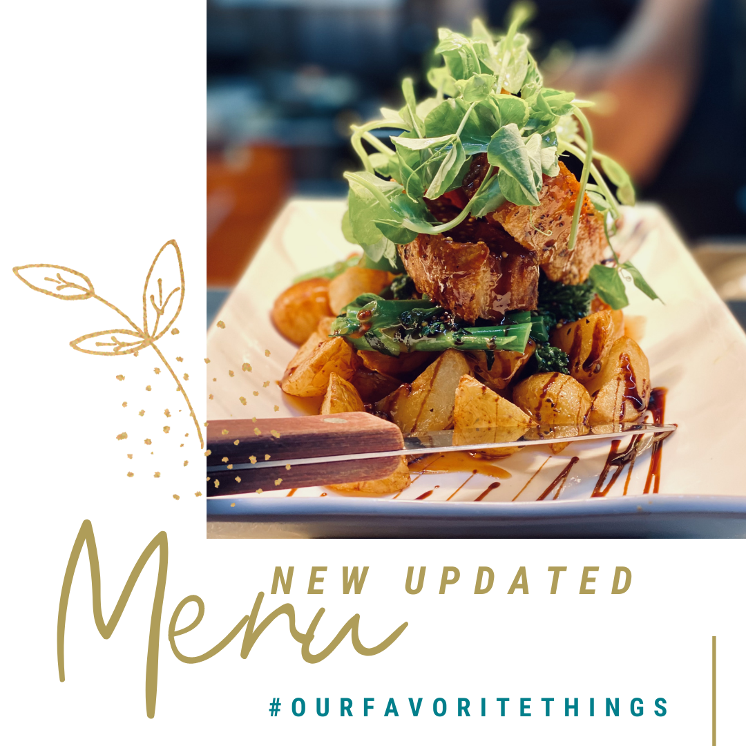 New Updated Menu #ourfavouritethings