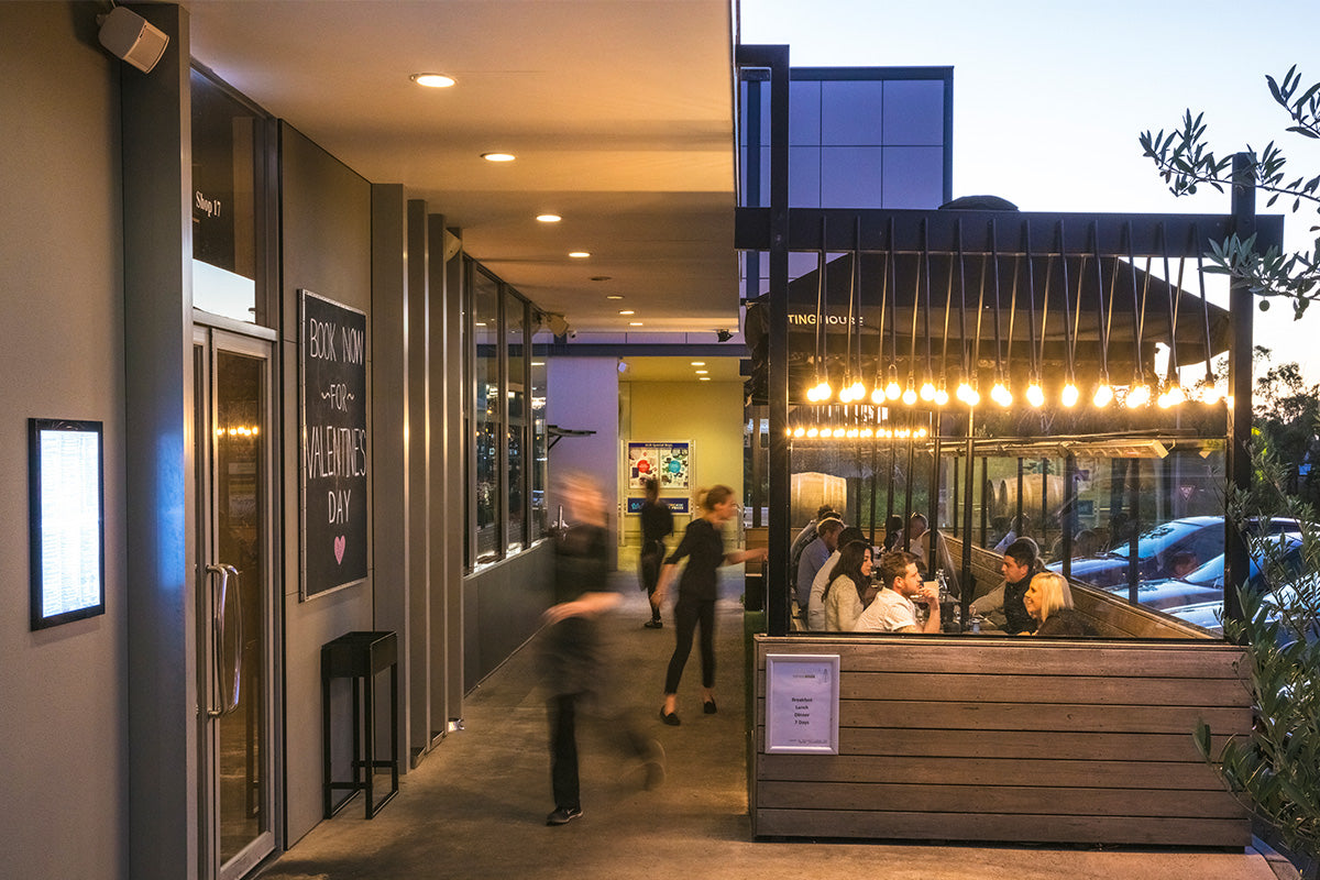 eating house rowville restaurant bar dining venue our spaces venue front outdoor seating alfresco the BENCH