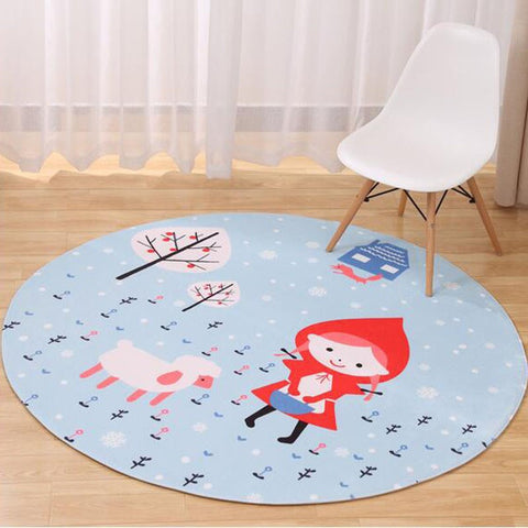 TAPIS CHAPERON ROUGE - My Poppy Shop