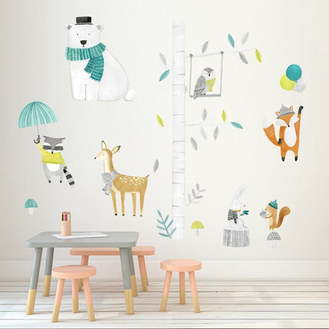 STICKERS ANIMAUX FORET - My Poppy Shop