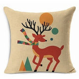 HOUSSE COUSSIN ANIMAUX COLORES - My Poppy Shop