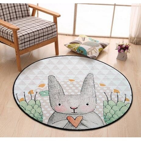 TAPIS LAPIN 3 DIAMETRES AU CHOIX - My Poppy Shop