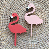 PATERE BOIS FLAMANT ROSE - My Poppy Shop