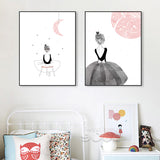 AFFICHE DANSEUSE 40 X 50 CM - My Poppy Shop