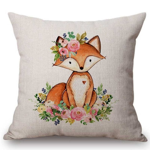 HOUSSE ANIMAL FLEURI - My Poppy Shop