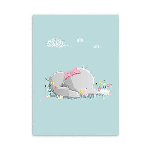 AFFICHE BEBE PASTEL - My Poppy Shop