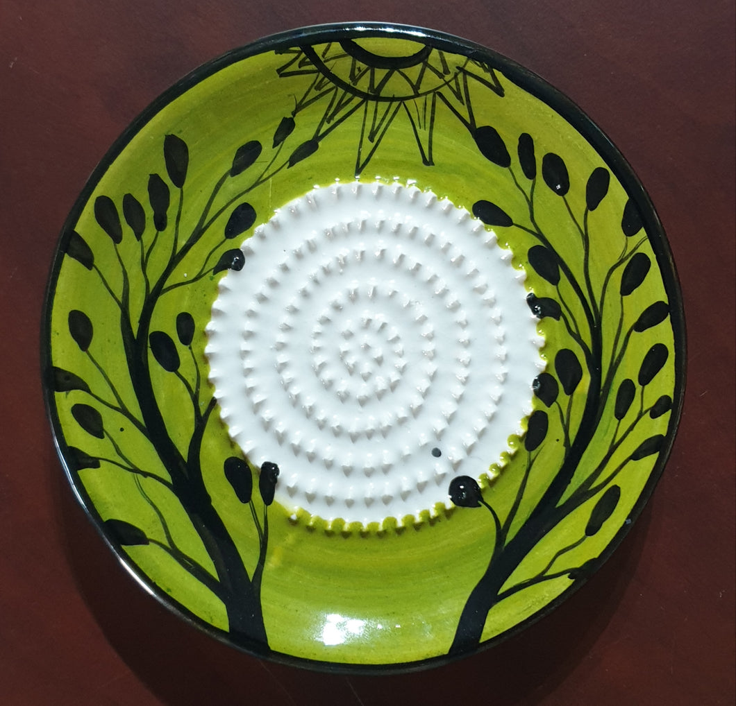 Trees Growing African Grater Plate