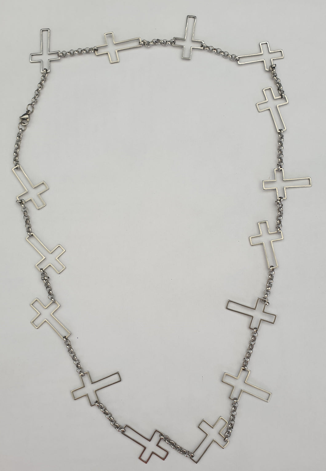 Multiple Cross Necklace