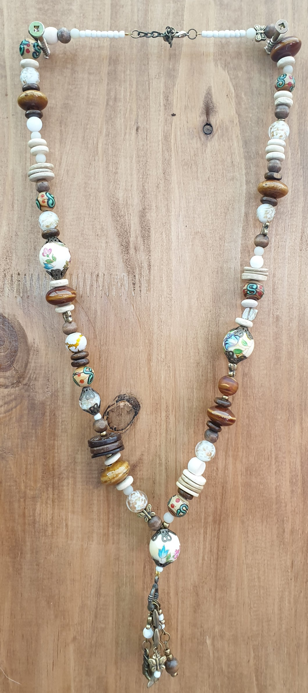 Brown Ethnic Necklace