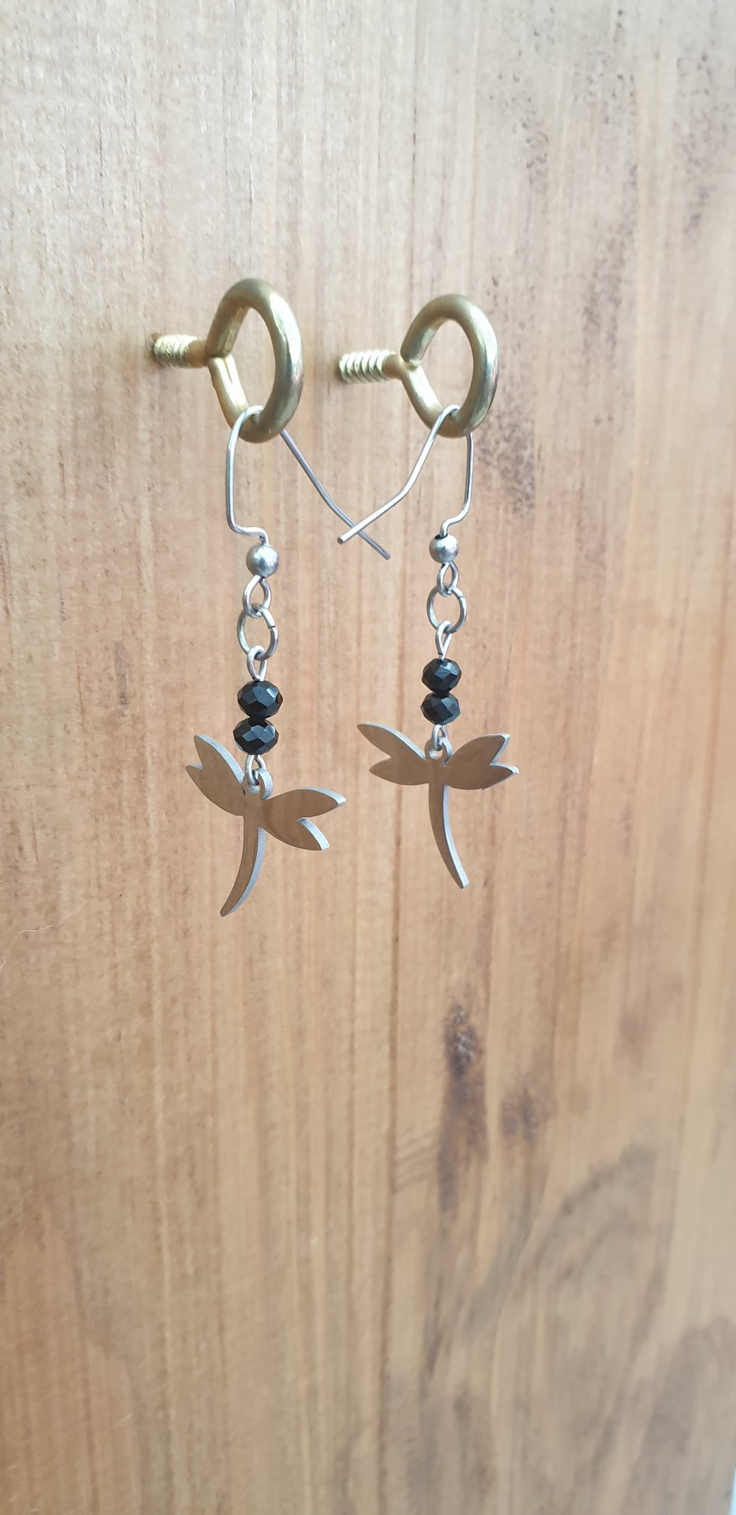 Dragonfly Stainless Steel Earrings