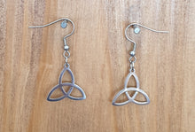 Celtic Triangle/Triquetra Earrings