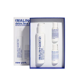 Set desintoxicante facial de (MALIN+GOETZ) - Detox Face Set