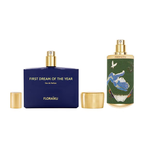 Eau de Parfum 'First Dream Of The Year' - Enigmatic Flowers Ikebana de FLORAÏKU