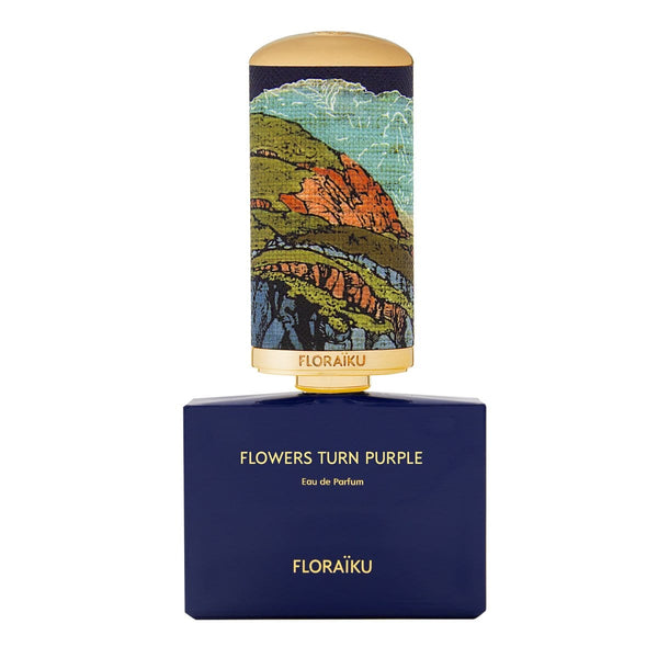 Eau de Parfum 'Flowers Turn Purple' - Enigmatic Flowers Ikebana de FLORAÏKU