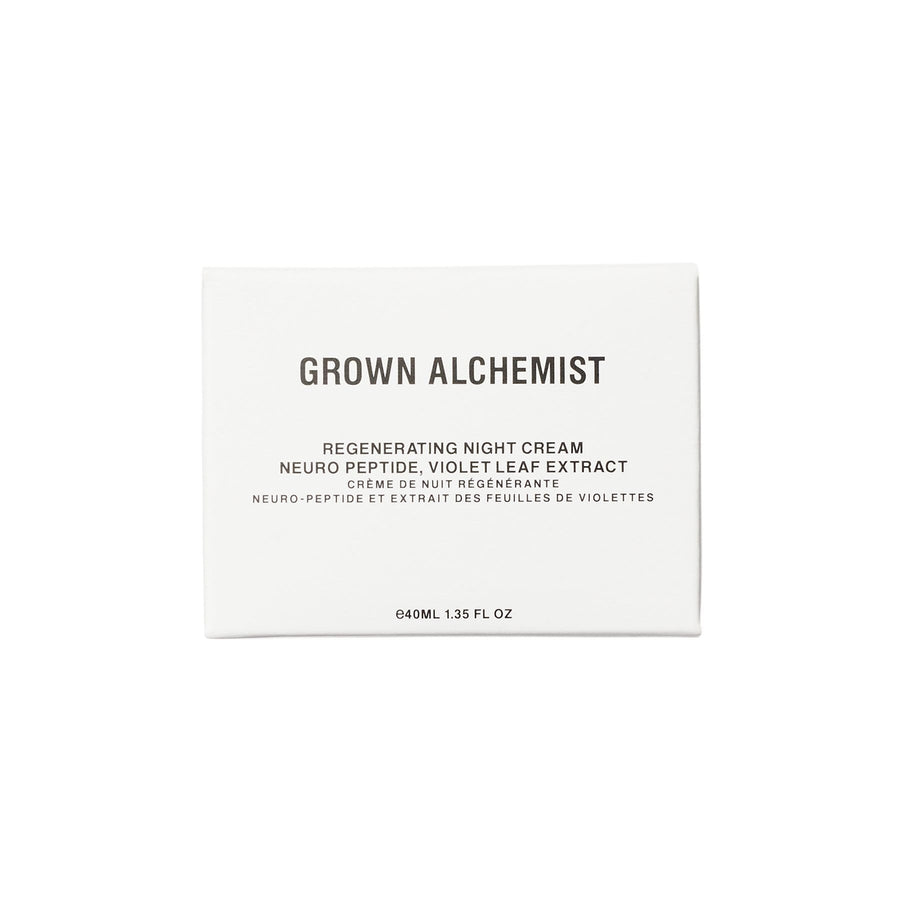 Hidratante de noche regeneradora de GROWN ALCHEMIST - Regenerating Night Cream