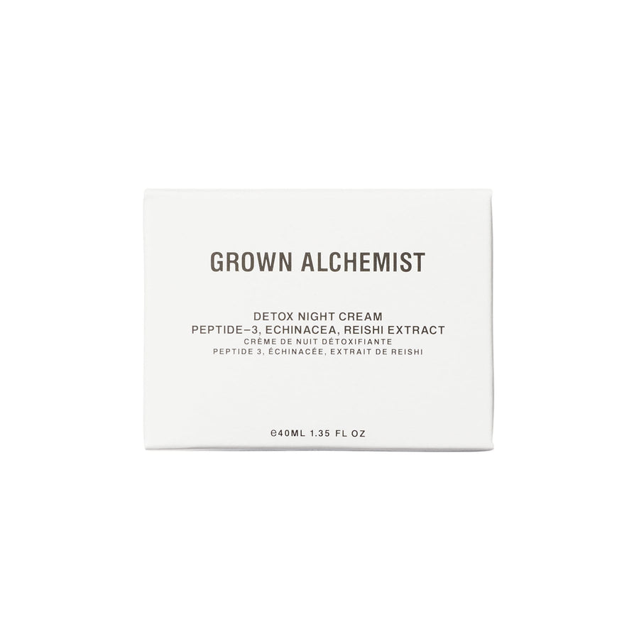 Hidratante de noche detox de GROWN ALCHEMIST - Detox Night Cream