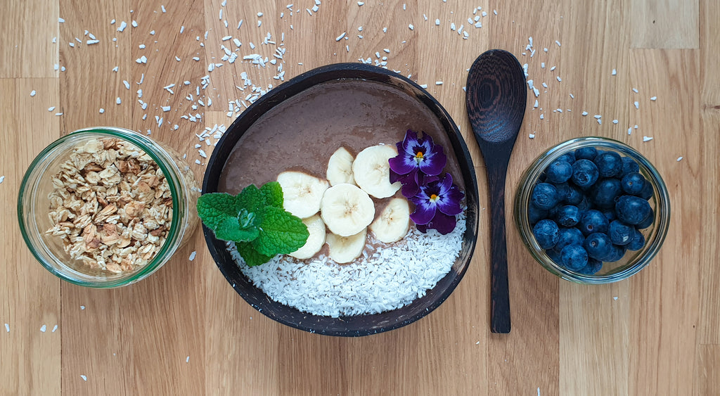 Coco Banana smoothie bowl