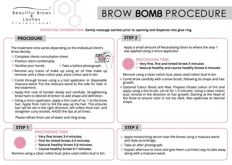 Brow Bomb Brow Lamination Kit
