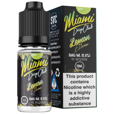 Miami Drip Club - Lemon E11even 50/50