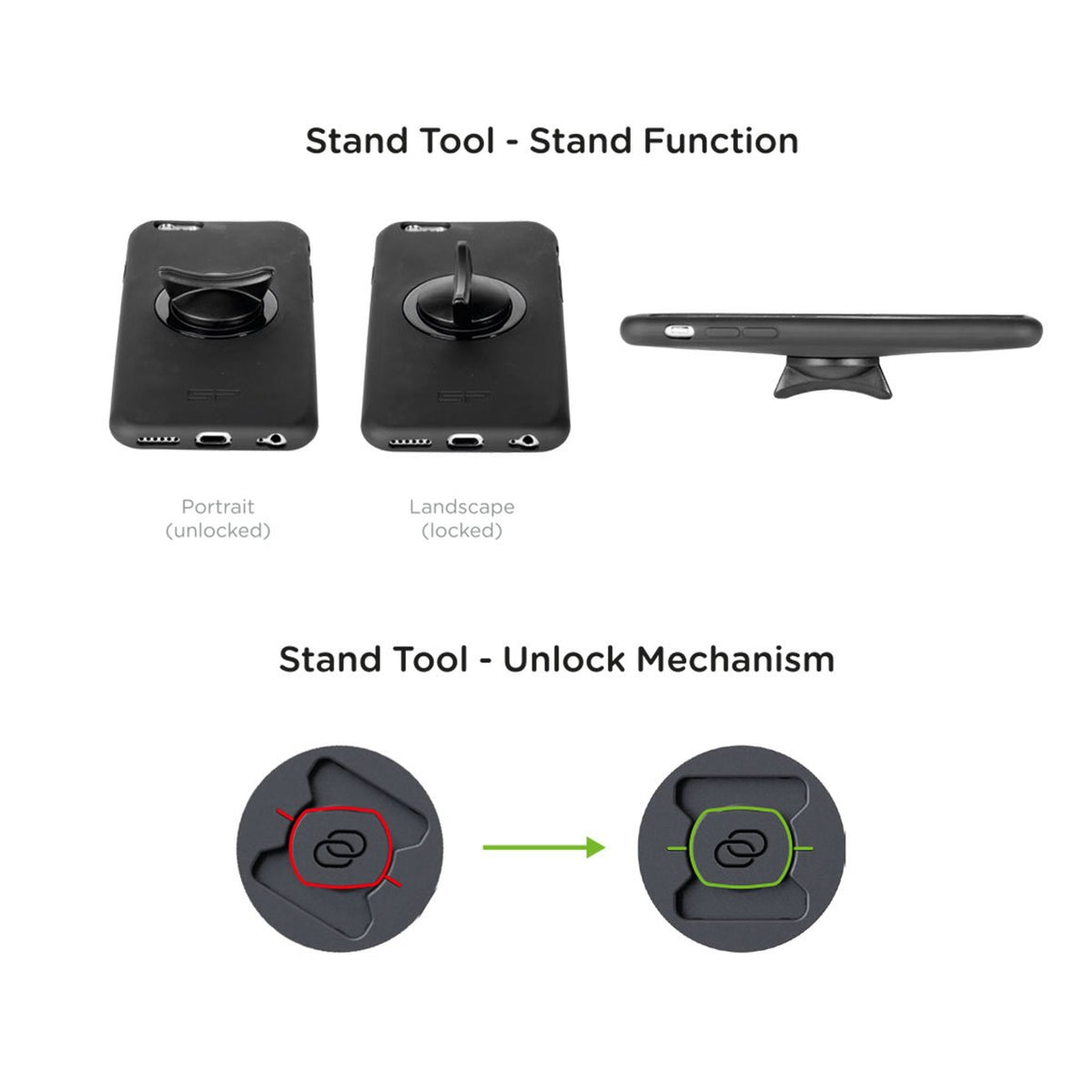 Stand Tool - 2 Pcs
