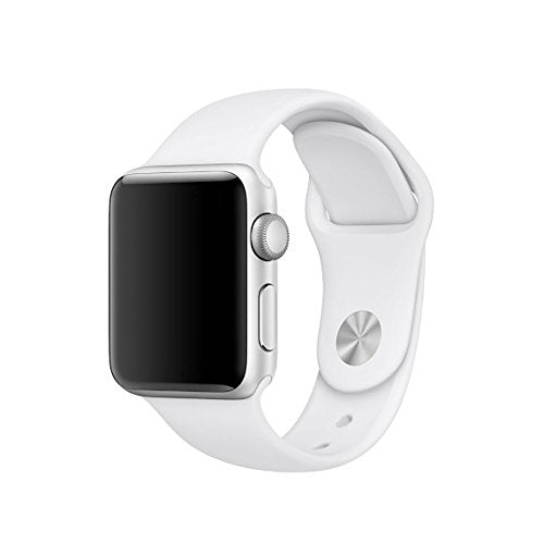 Apple Watch replacement strap by 94xStore (White)