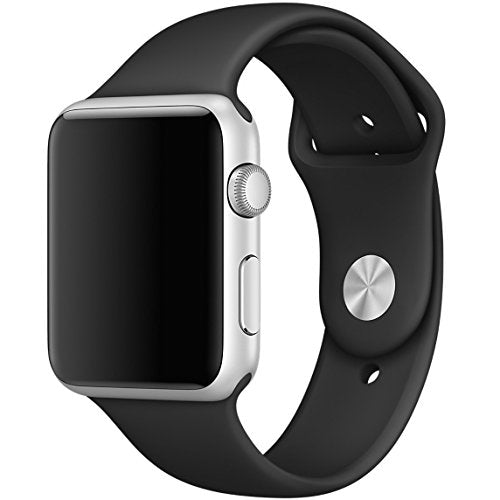 Apple Watch replacement strap by 94xStore (Black)