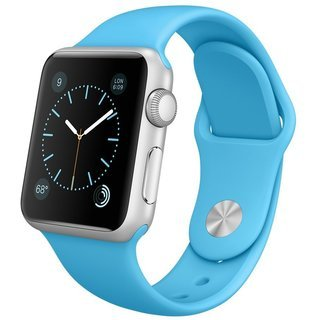 Apple Watch replacement strap by 94xStore (Sky blue)