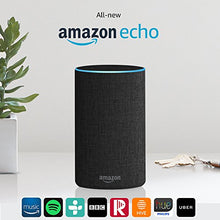All-new Amazon Echo (2nd generation), Charcoal Fabric