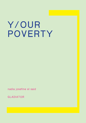 Forudbestil: Y/OUR POVERTY