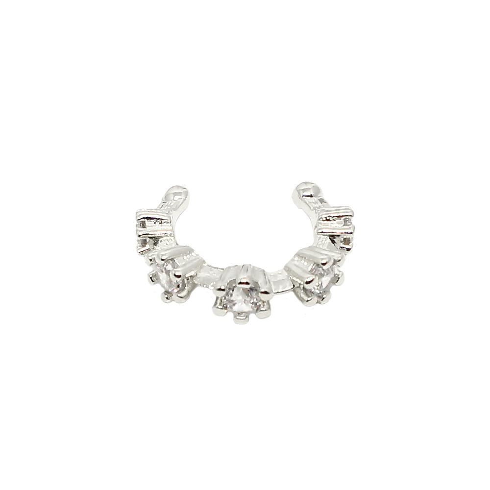 PIUKA FAKE PIERCING - 43580 - FIVE POINTS OF ZIRCONIUM - ByMargue