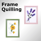 Quilling Framed Art