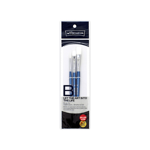 Bomeijia Artist Brush Set A550b Pack of 3