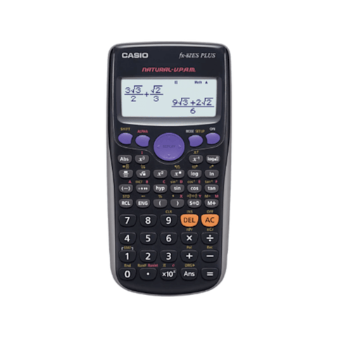 Casio fx-82ES Plus Scientific Calculator Black
