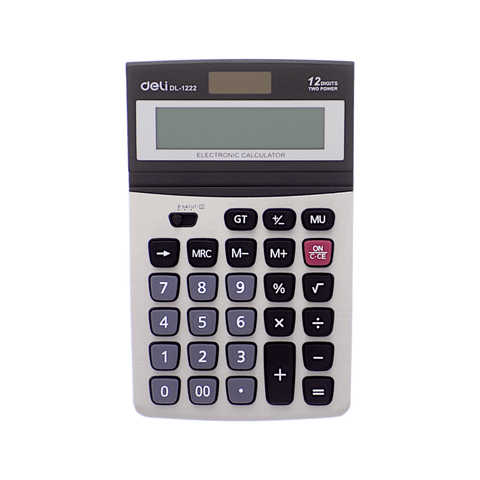 Deli Electronic Basic Calculator #1222 12 Digits