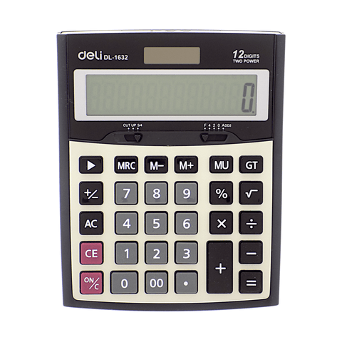 Deli Electronic Basic Calculator #1632 12 Digits