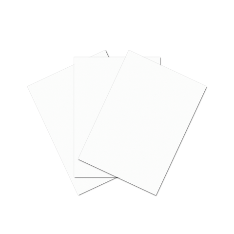 Generic Chipboard 50 x 70 cm Sheet White