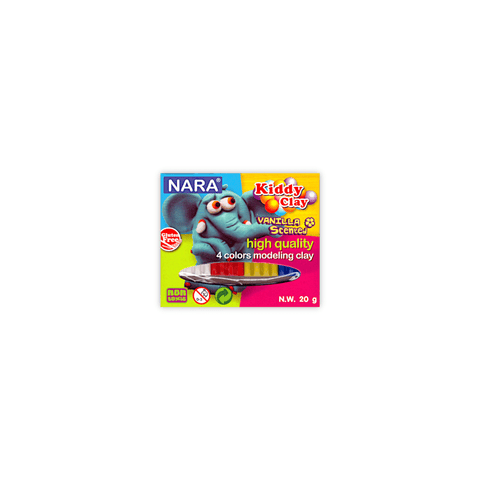 Nara Modeling Clay 4 Assorted Colors 20 g